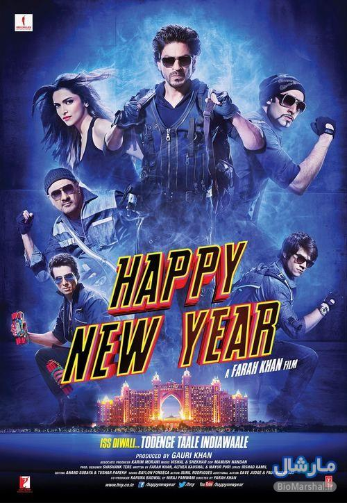 دانلود فیلم ۲۰۱۴ Happy New Year با لینک مستقیم و کیفیت 720 بلوری