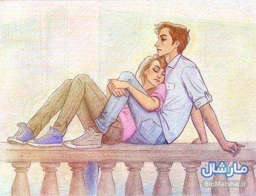 عکس های عاشقانه دو نفره دختر و پسر