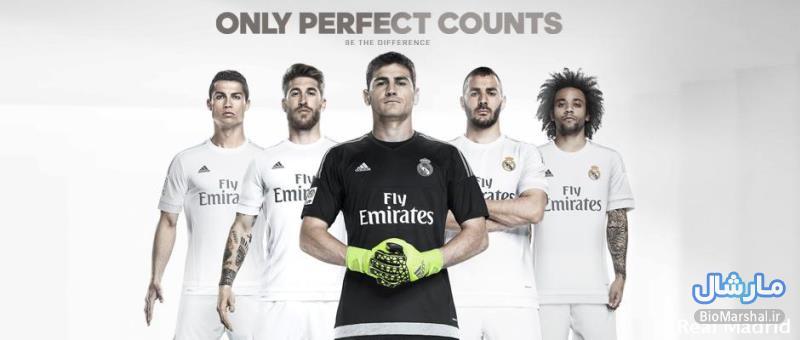 دانلود کلیپ رونمایی از پیراهن های جدید رئال مادرید در فصل 16-2015