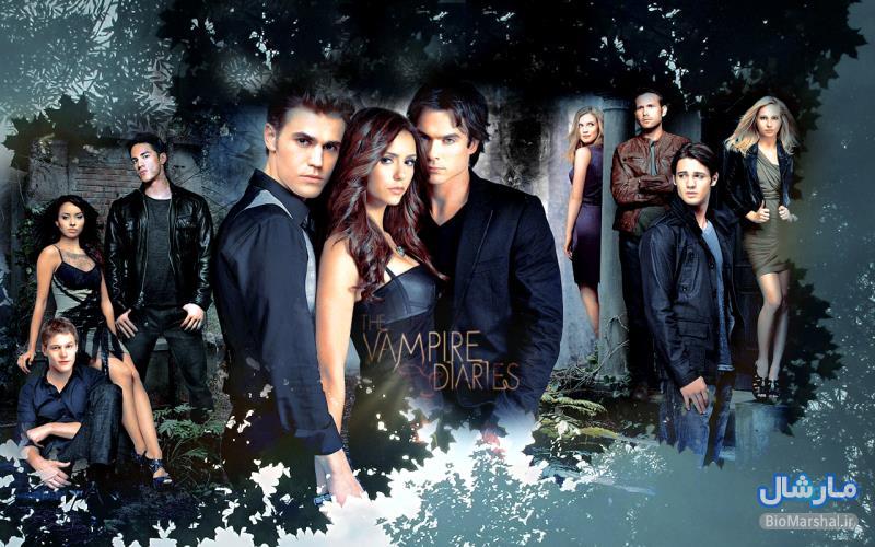 دانلود زیرنویس کامل سریال The Vampire Diaries