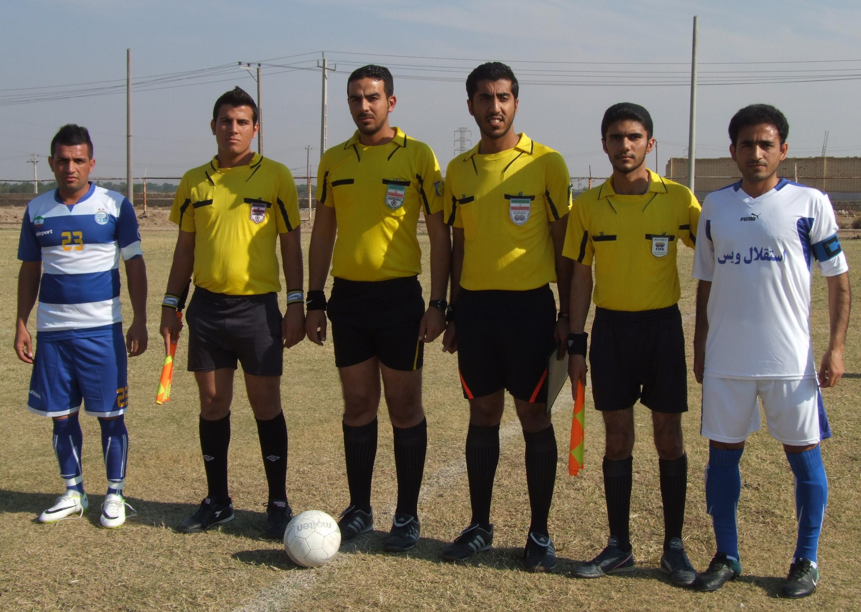نتایج هفته هفدهم مسابقات فوتبال دسته یک بزرگسالان باشگاهی خوزستان به همراه جدول رده بندی
