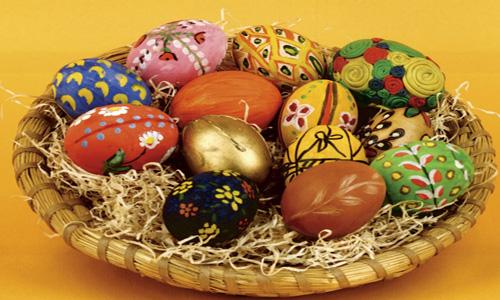 تزیین تخم مرغ عید نوروز 93