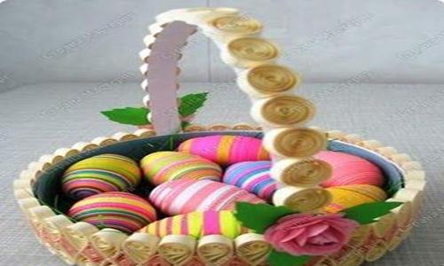 تزیین تخم مرغ رنگی