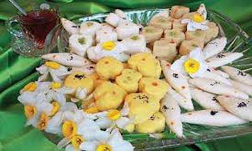 شیرینی عید آموزش شیرینی عید نوروز