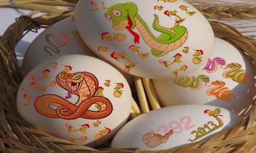تزیینات تخم مرغ