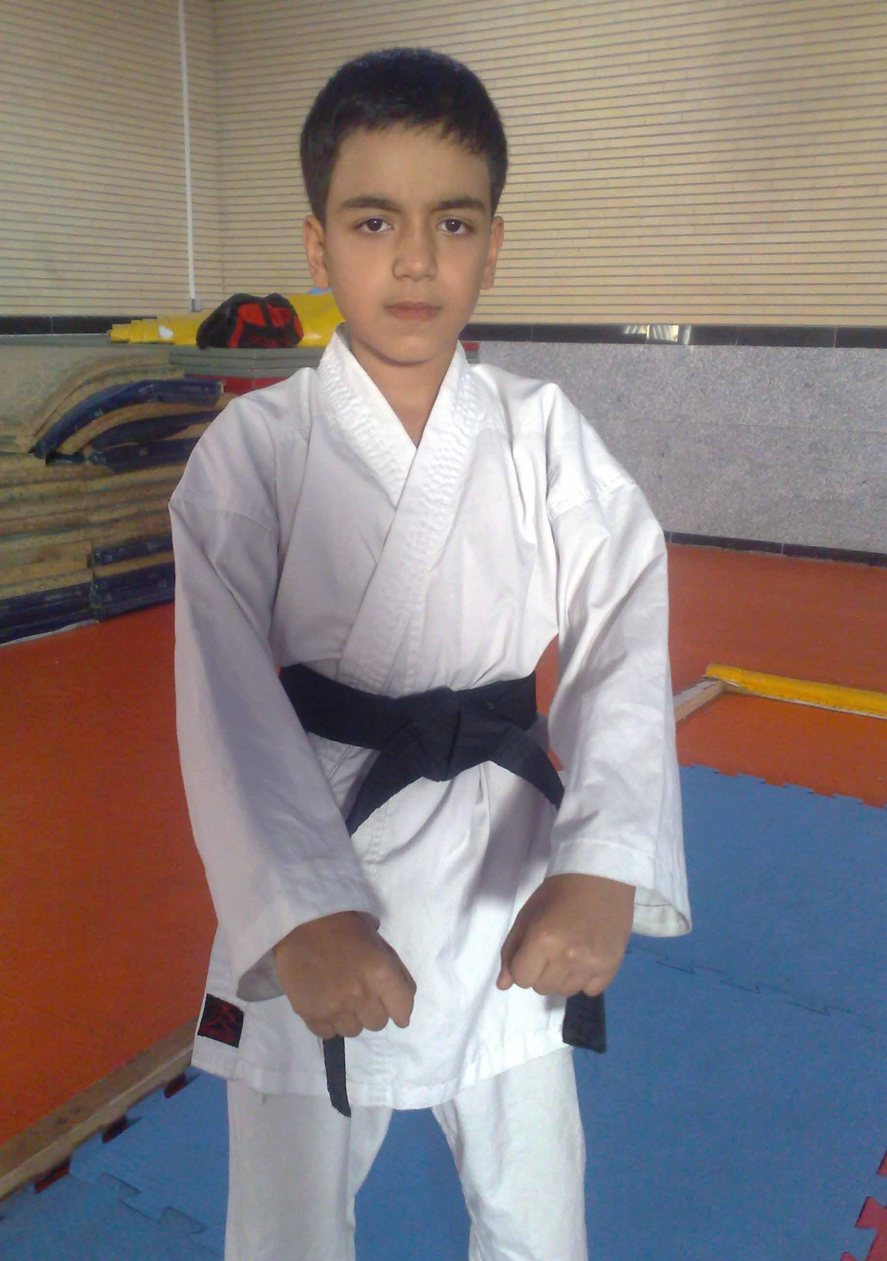کسب مدال طلای کشوری کاراته