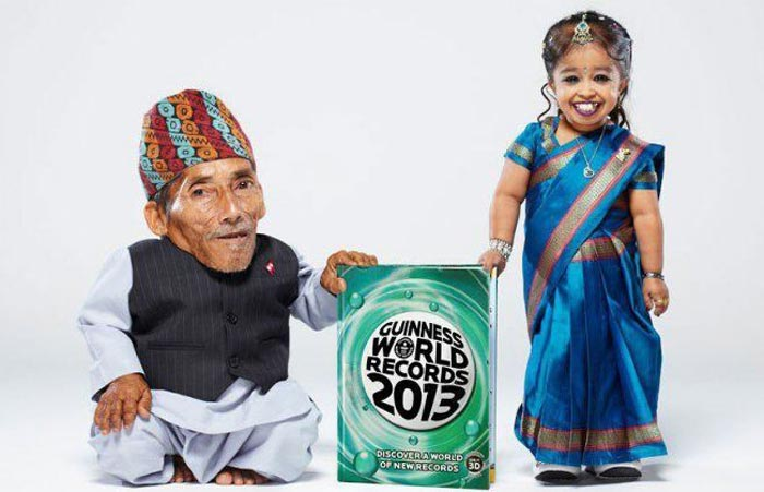 کوچکترين زن و مرد جهان