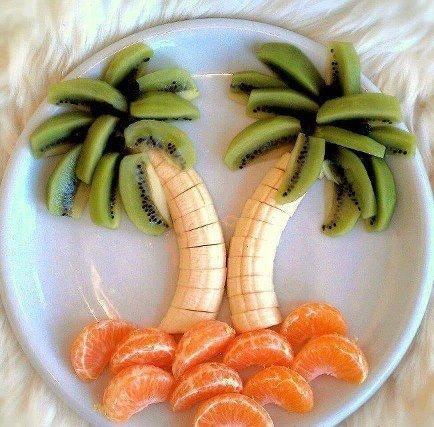 خلاقیت با غذا