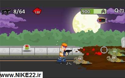 بازی آنلاین,اکشن,تیرانداز زامبی Zombie Shooter
