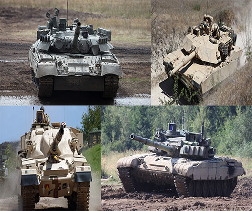 جدیدترین و بهترین والپر ها از تانک های روسی