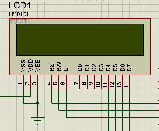 چگونگی و نحوه چاپ متغیر بر روی LCD