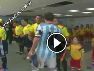 رفتار زشت مسی در جام جهانی