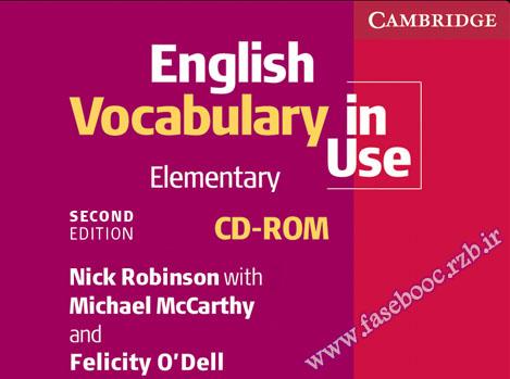 دانلود برنامه آموزش زبان English Vocabulary in Use