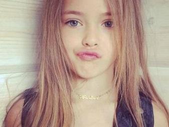 عکس های کریستینا دختر 9 ساله جذاب و مدل