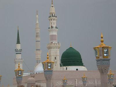 آشنایی با مسجد النبى (ص)–مدینه