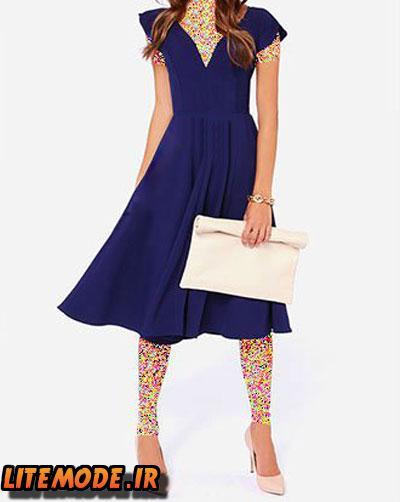 لباس مجلسی دخترانه 94,لباس کوتاه دخترانه بهاری