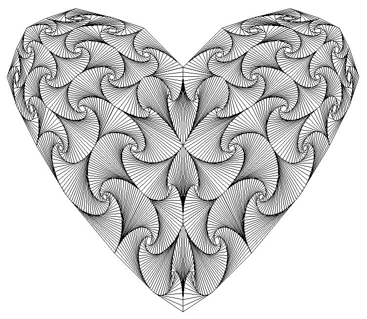 عکس های عاشقانه طراحی با مداد