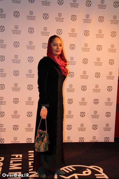 مهناز افشار در جشنوارهی فیلم روتردام هلند