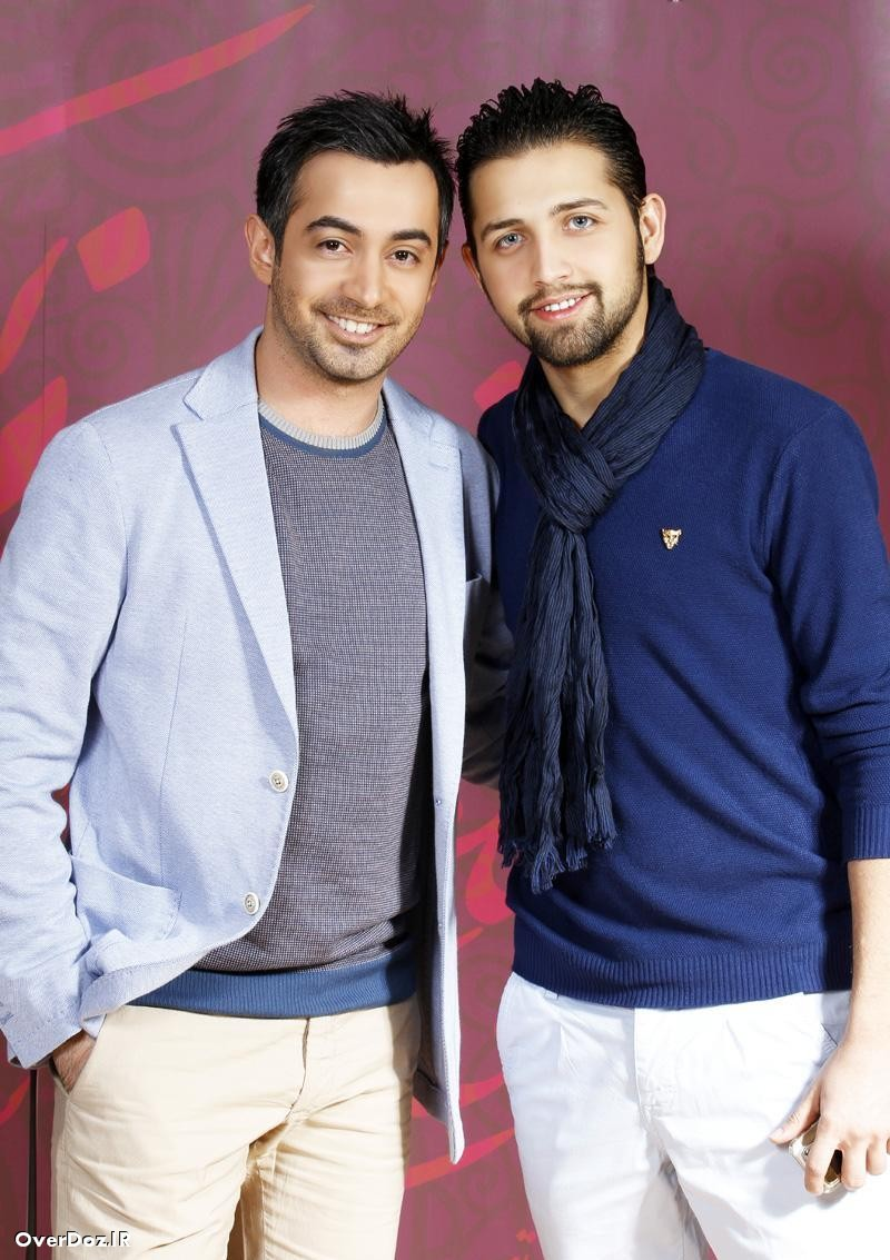 جدید ترین عکس های مجید مظفری و محسن افشانی در کنسرت امیر یگانه