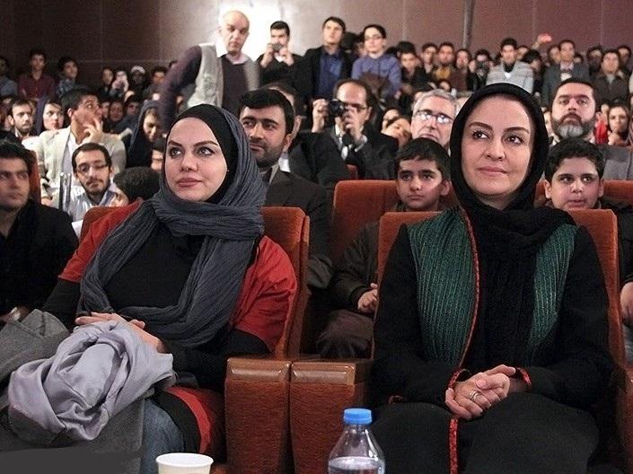 عکس های مریلا زارعی و نرگس آبیار در اختتامیه جشنواره فجر در مشهد
