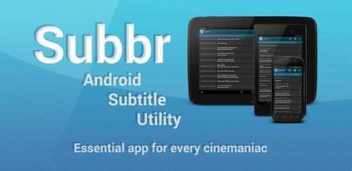 دانلود نرم افزار زیبای   Subbr Pro: Subtitle Editor v1.2.3