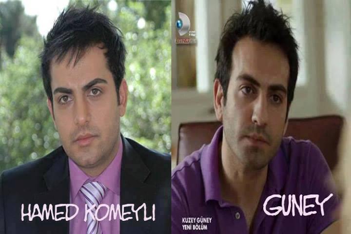 شباهت جالب بازیگر ایرانی با بازیگر سریال کوزی گونی