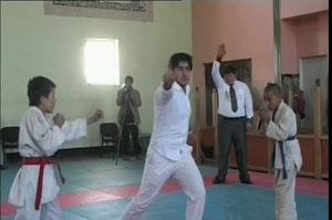 تیم ولایت دایکندی مقام اول را در مسابقات جوجیتسو در کابل کسب کرد