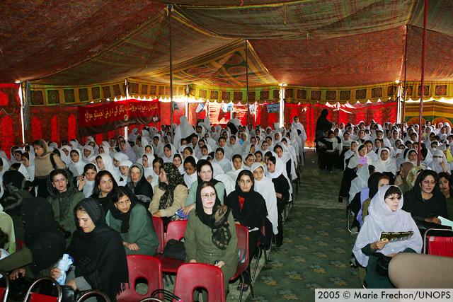 تاریخچه شورای ملی افغانستان