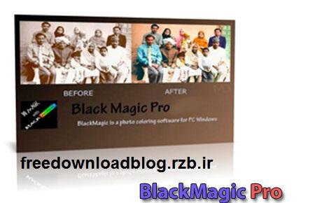 دانلود BlackMagic Pro 2.86 – نرم افزار تبدیل عکس سیاه و سفید به عکس رنگی