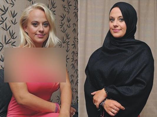 پایگاه خبری تحلیلی خبر نــو - مدل لباس 24 ساله مسلمان شد+عکس