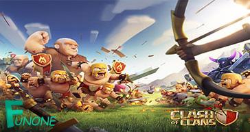 دانلود نسخه جدید بازی کلش اف کلنز برای اندروید - Clash of ...
