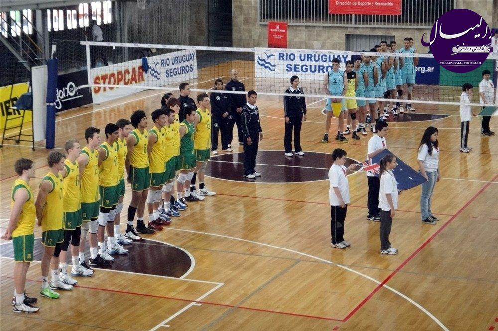 پیروزی تیم ملی امید والیبال ایران برابر استرالیا !