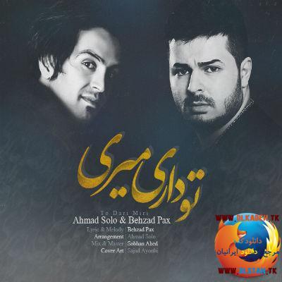 آهنگ جدید و بسیار زیبای بهزاد پکس و احمد سولو به نام تو داری میری