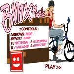 بازی پیست دوچرخه سواری Bmx park