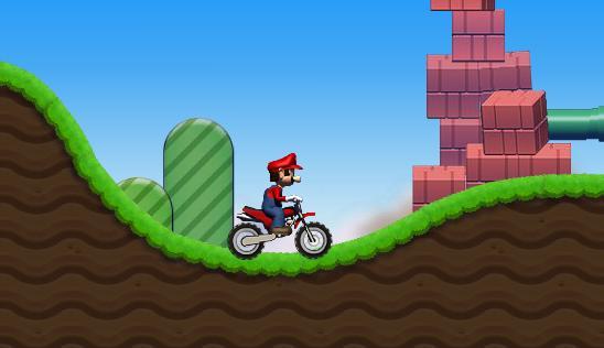 بازی آنلاین ماریو موتور سوار