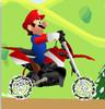 بازی آنلاین ماریو با موتور کراس