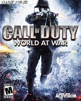 دانلود بازی Call of Duty 5 : World At War با پارت های کم حجم