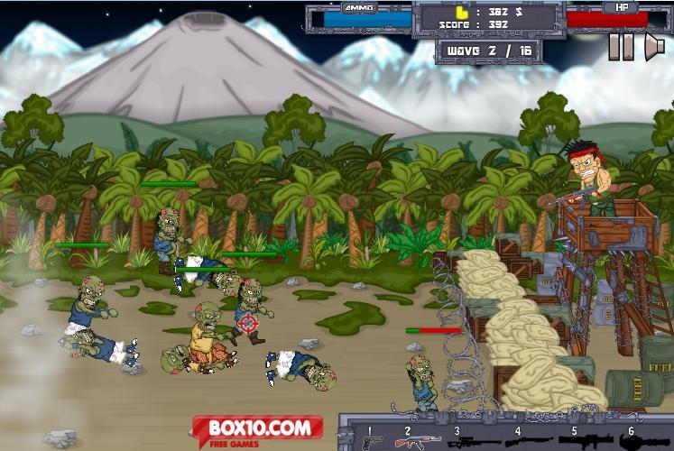 دانلود بازی دفاع در برابر زامبی ها Left To Die