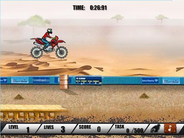 بازی آنلاین موتورسوار Biker