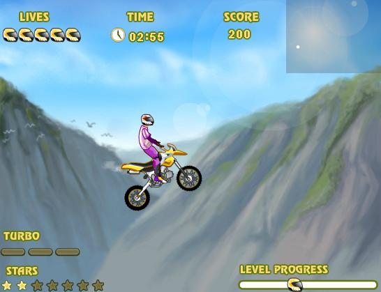 بازی آنلاین موتورسواری هیجانی Uphill Rush