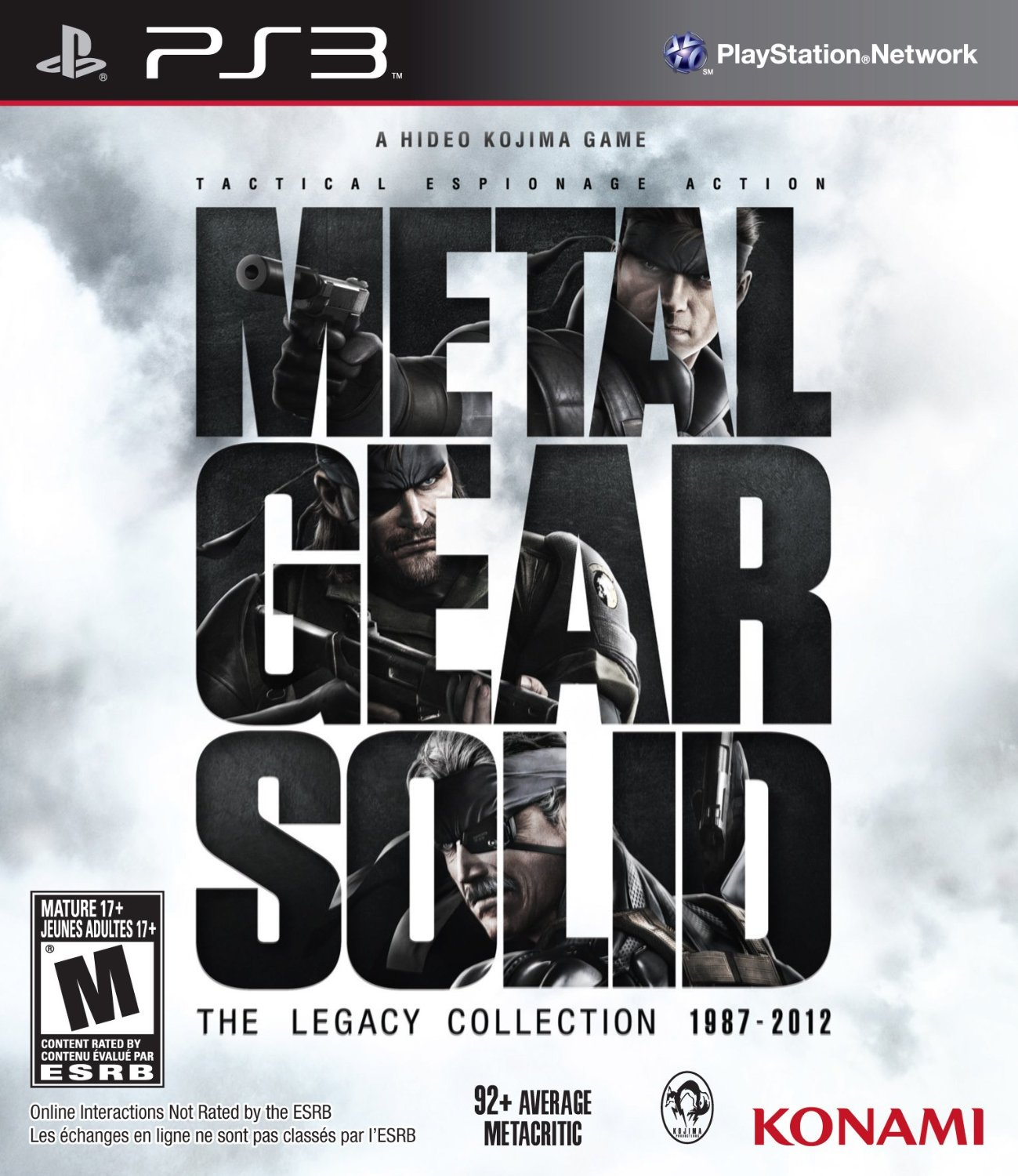 Metal Gear Solid:The Legacy Collection ps3