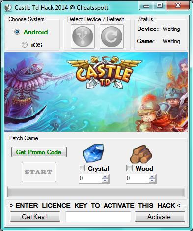 هک بازی castle TD برای اندروید و ios