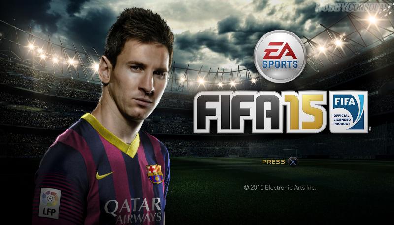 پچ جدید FIFA 15 برای PS4 منتشر شد