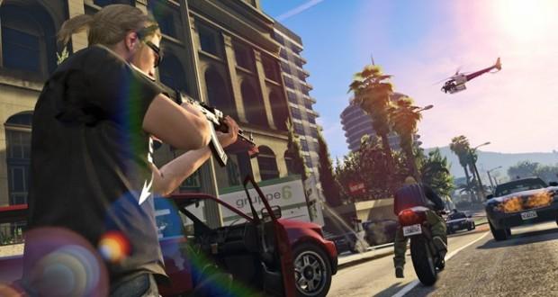 تصاویر جدیدی از GTA V منتشر شد