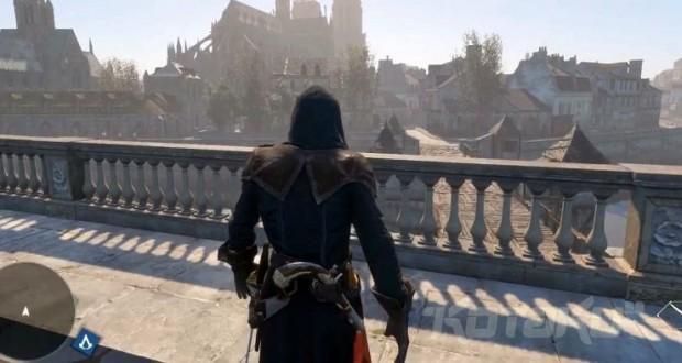 تصاویر مقایسه ای از پاریس امروز و Assassin's Creed: Unity