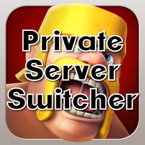 دانلود نرم افزار CoC Private Server Switch سرور های هک شده بازی clash of clans