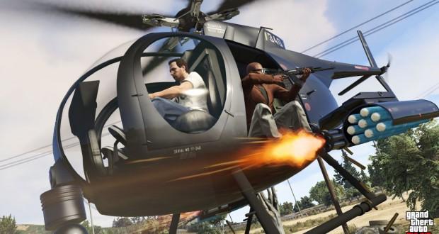 انتشار تصویری از کنسول های PS4 و XBOX ONE با طرح GTA V