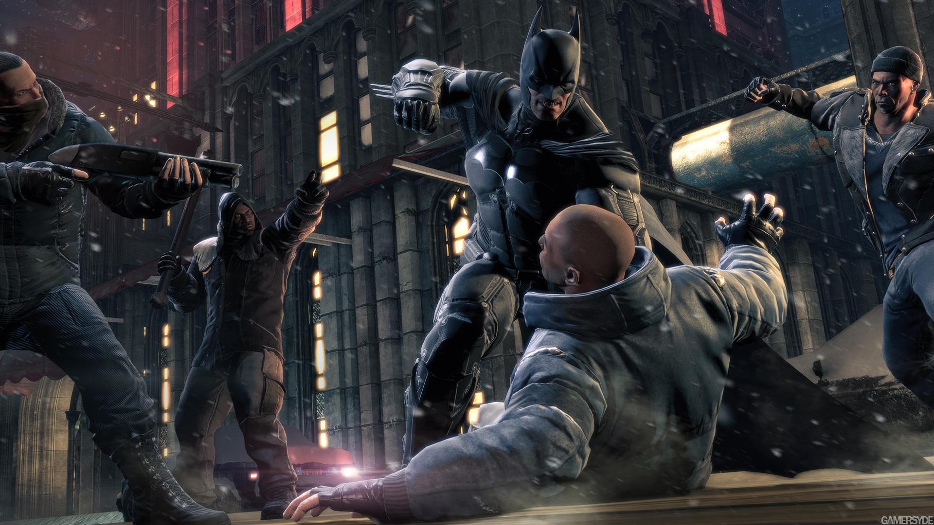 تصاویر + تریلری جدید از بازی Batman Arkham Origins