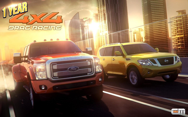 دانلود هک بازی Drag Racing 4×4