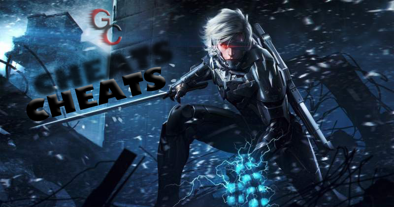 کد های تقلب Metal Gear Rising: Revengeance